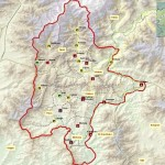 Shangla swat valley - map of district shangla