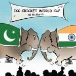 Mohali Semi Final India & Pakistan War