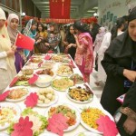 Cultural Festival at Islamic University Islamabad  -  Food Stall