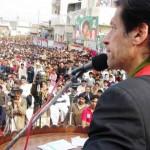 Imran Khan Dharna in Peshawar against Drone Strikes