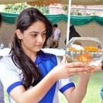 Spring Flower Festival 2011 in Arid Agriculture University Rawalpindi