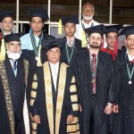 UET Taxila Convocation 2011 - Position Holders with Governor Punjab