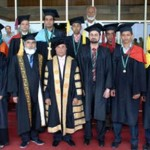 UET Taxila Convocation - Gold Medalist with Governor Punjab