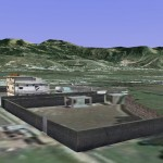 3D Satellite View of Osama House in Abbottabad Pakistan 2