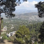 Abbottabad city Pakistan from Shimla Hill