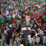 Imran Khan Dharna in Karachi against Drones (Pics Gallery)
