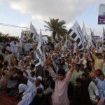 Osama Funeral in absentia in Karachi