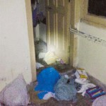 Osama inside House Pics Abbottabad Pakistan - Broken Door