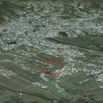 Satellite Location Map of Osama House in Abbottabad Pakistan