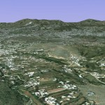 Satellite View of Abbottabad City - Osama House Pakistan 4