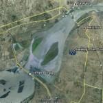 Kalabagh Dam Satellite Map