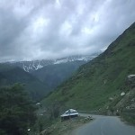 Naran Kaghan Valley - Road, River & Snow covered Mountains