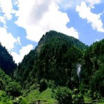 Naran Kaghan Valley - waterfall on way to naran