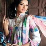 Sadia Khan Photo Shoot - Firdous Swiss Lawn
