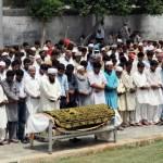 Sarfaraz Shah Funeral Prayer in Karachi