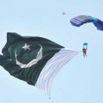 Spirit of Swat Festival 2011 - British skydivers got free fall world record
