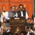 Nawaz Sharif President PML N elected
