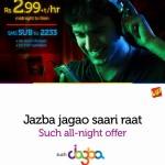 Mobilink Jazz Jazba All Night Offer