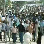 Students Protests against Inter Part I (First Year) Result errors in Punjab