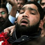Malik Mumtaz Qadri Sentenced to Death by Court - express tribune 1-10-2011