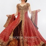 Maya Ali Bridal Shoot For Nilofer Shahid Collection