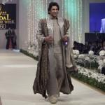 Waseem Akram Ramp At Bridal Fashion Show