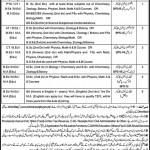 Government Educators Jobs Lahore 2011