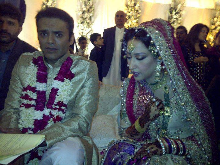 Kashif Abbasi Mehar Bukhari Wedding Picture