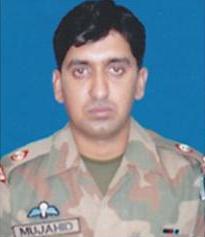 Major Mujahid Mirani of Pak Army - killed by NATO America