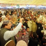 Nawaz Sharif (PML-N) Visits Shikarpur Sindh on November 17, 2011
