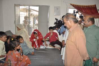 Shahbaz Sharif in Shahbaz Nagar Faisalabad