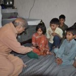 Shahbaz Sharif with Children of Shahbaz Nagar Faisalabad 2
