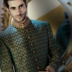Amir Adnan Groom Sherwani Collection 2012