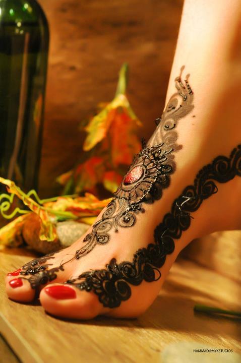 Henna Mehndi Returns : Bridal mehndi design