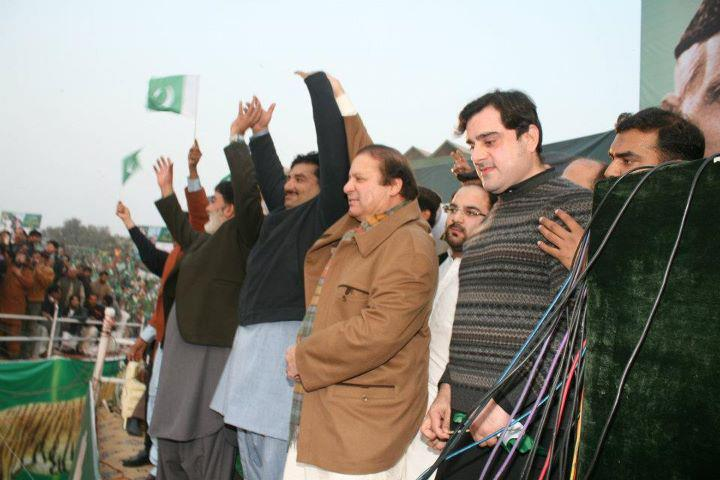 Nawaz Sharif PMLN historical Jalsa in Gujranwala on Dec 31 2011 (4)