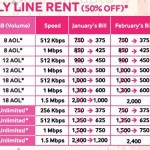 Qubee Line Rent Discount Offer