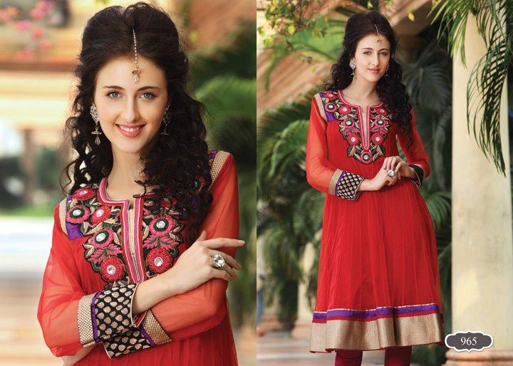 Mansha Winter Dress 14 - Anarkali Frocks BY MAnsha :)