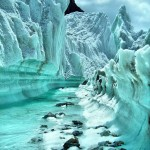 Green Glacier of K2 Pakistan