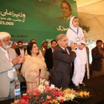 Naveera Babar being appreciated by Chief Minister in Sargodha