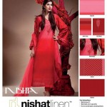 Nishat Linen Embroidered Lawn Summer Collection 2012
