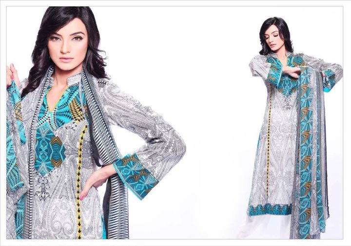 Warda Summer Lawn 5 - Dress Of The Day 13th May 2012