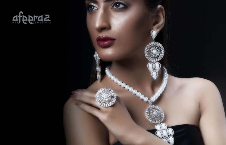 Pure Silver Jewelry Collection By Afeeraz Paki Mag