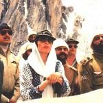 Benazir in Siachen