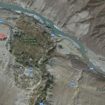 Chilas City Satellite Map