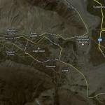 Giligit City Satellite Map