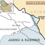 Map Siachen Area