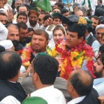 Ameer Muqam's Welcomes at Mardan Shakai Interchange
