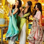 Khawar Riaz Mehndi Dress Collection 2012
