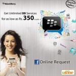 Ufone Blackberry Services Free For 6 Months