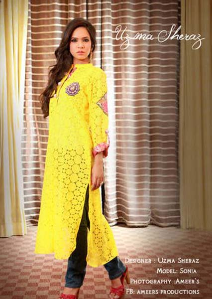 Uzma Sheraz Summer Collection 3